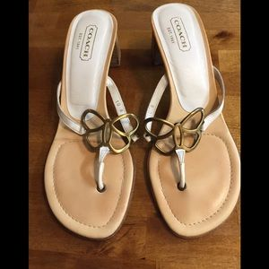 Coach Ladies Sandals Sz 10B